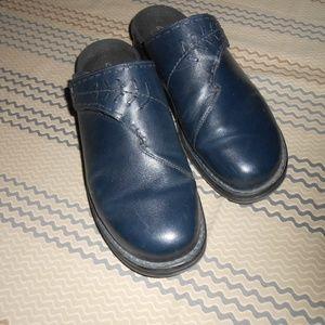 Clarks Leather slide on